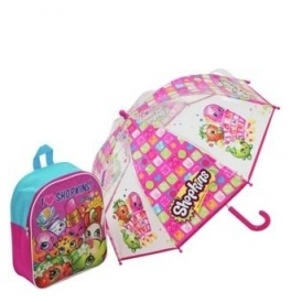 Shopkins Backpack & Umbrella £9.99 @ Argos