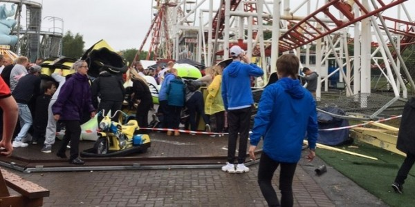 7 People Injured In Rollercoaster Crash At M&D's Theme Park, Strathclyde Park