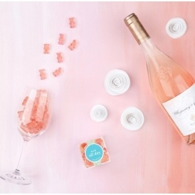 Rosé Wine Gummy Bears!