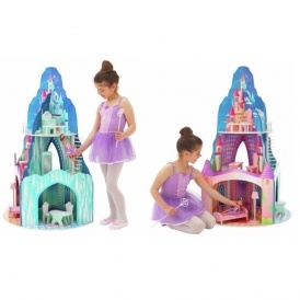 Summer Winter Dolls Wooden House £34.99