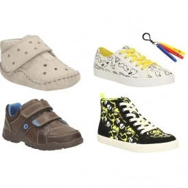 Kids Shoes From £6 In The Clarks Sale