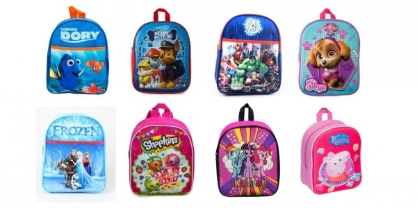 Junior Backpacks From £2.99 @ Smyths Toys