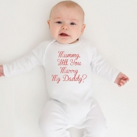 Marriage Proposal Babygro, Anyone?