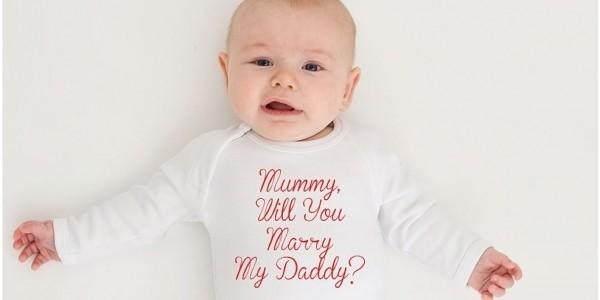 Marriage Proposal Babygro: Love It Or Loathe It?