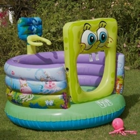 Mickey Mouse/Spongebob Bouncer £22.49