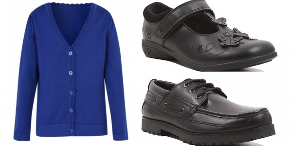 Spend £25+ On School Uniform Get 20% Off Leather Shoes @ Asda George