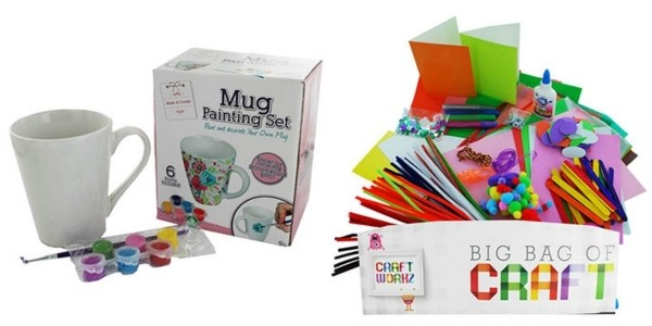 20% Off Selected Craft Kits (With Code) @ The Works
