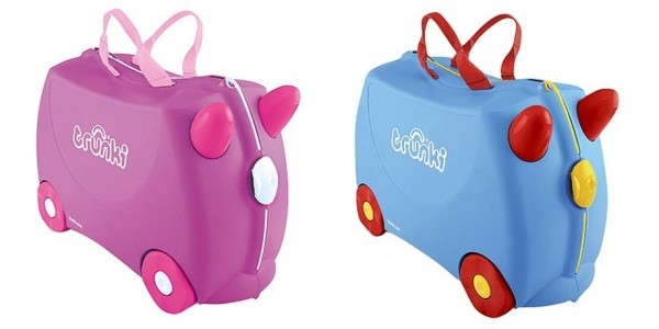 Trunki Ride-On Suitcases £25 @ Tesco Direct