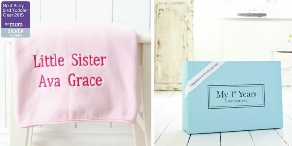 Personalised Pink Fleece Blanket £10 @ My 1st Years