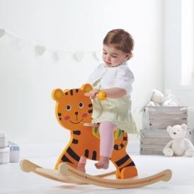 Wooden Rocking Tiger £17.50