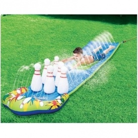 Bowling Splash Water Slide