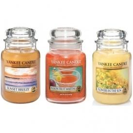 3 Large Yankee Candles Jars £45