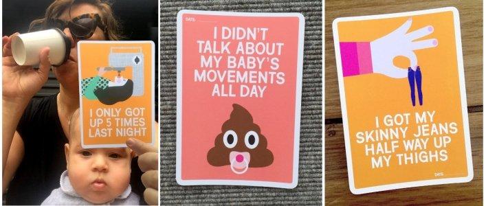 Mum's Milestones Cards