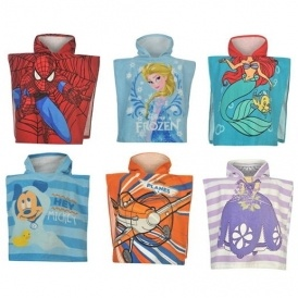 Character Towel Ponchos From £2.50