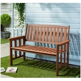 Wooden Garden Bench Now £29.99