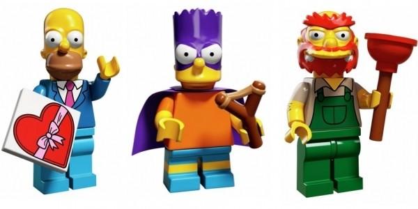 Lego Simpsons Minifigures 99p @ Argos
