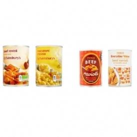 RECALL: Tesco & Sainsbury's Pasta Products