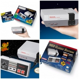Pre-Order: Nintendo Classic Mini £49.95 Del
