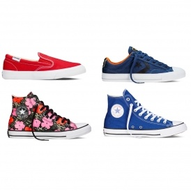 Converse Shoes From £9.99 Delivered