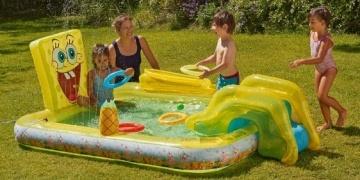 Airflow bouncy castle 65 tesco direct for Garden pool tesco