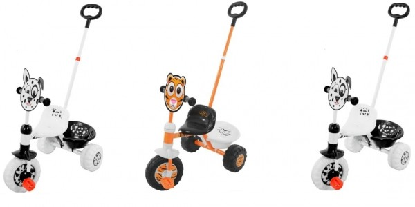Chad Valley Zoomies My First Trike: Dalmation/Tiger £10.99 (was £26.99) @ eBay/Argos