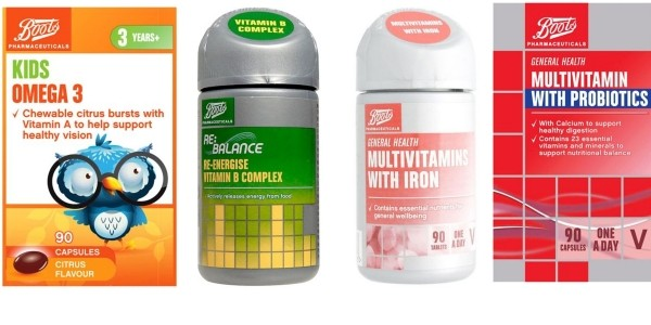 GLITCH: Get THREE Packs Of Vitamins For The Price Of One!