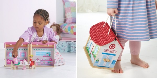 Wooden Carry-Along Cafe, School or Hospital £12 @ Asda George