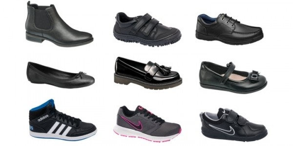 School Shoes Buy One Get One Half Price @ Deichmann