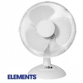 "Elements 12"" Desk Fan £9.99"