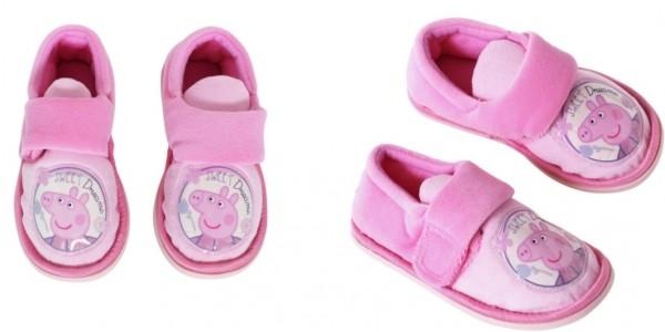 Peppa Pig Slippers £1.99 @ Argos