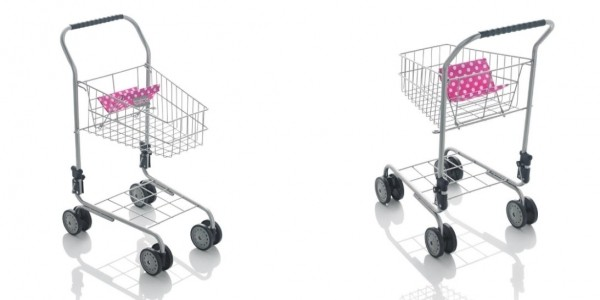 Molly Dolly Children's Metal Shopping Trolley £11.74 Delivered @ eBay Seller: Net Price Direct
