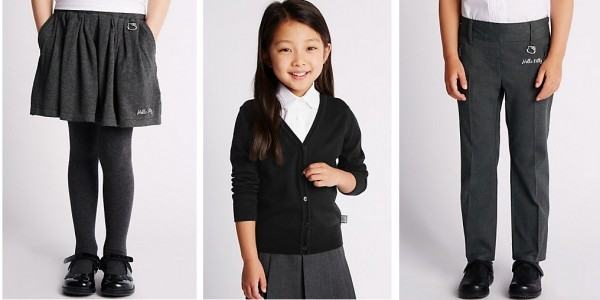 Back To School: School Uniform Up To 80% Off @ M&S