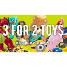 3 for 2 On Toys @ Argos!