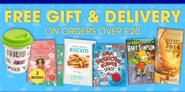 FREE Gift & Free Delivery When You Spend £20 @ The Book People