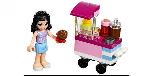 FREE Lego Friends Cupcake Stall @ The Lego Shop