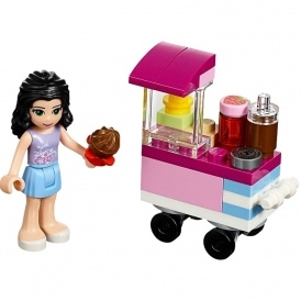 FREE Lego Friends Cupcake Stall