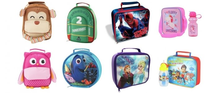 Back To School: Lunchbags From £2.99