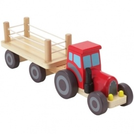 Chad Valley Wooden Tractor £3.59 (was £9.99)