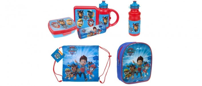 Kids Paw Patrol Bag Or Accessories From £1