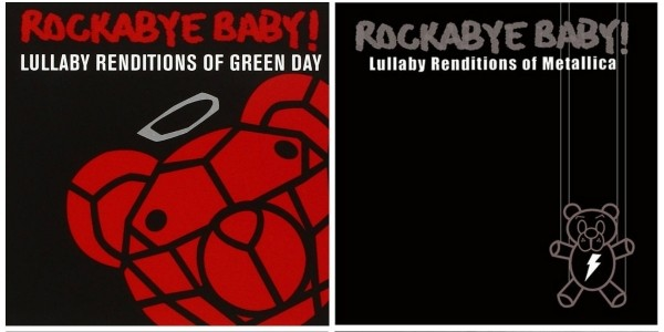Rock Music Lullabies For Babies @ Amazon