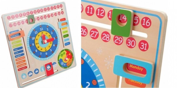 Chad Valley PlaySmart Wooden Calendar £2.99 @ Argos (Expired)