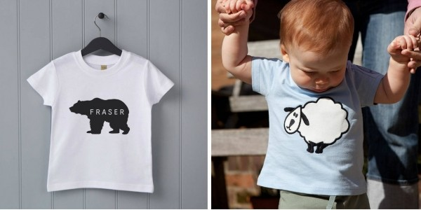 Baby Clothes For Under £10 Delivered @ Not On The High Street