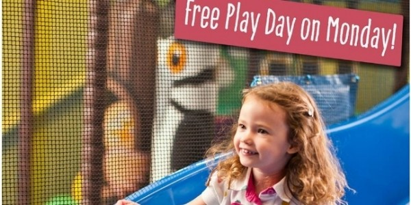FREE Play Day Monday 25th July @ Wacky Warehouse