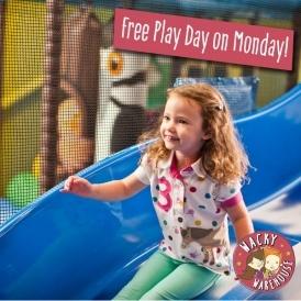 FREE Play Day @ Wacky Warehouse