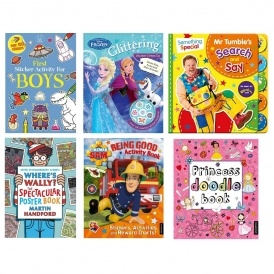 Activity Books 4 For £10 Delivered