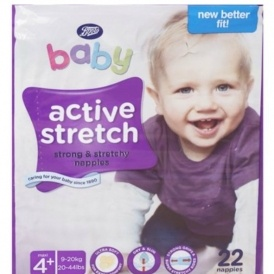BOGOF On Selected Nappies @ Boots.com