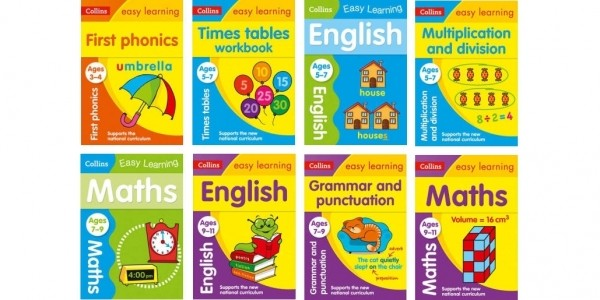 Back To School: Up To 60% Off Educational Books + Free Delivery @ Tesco Direct