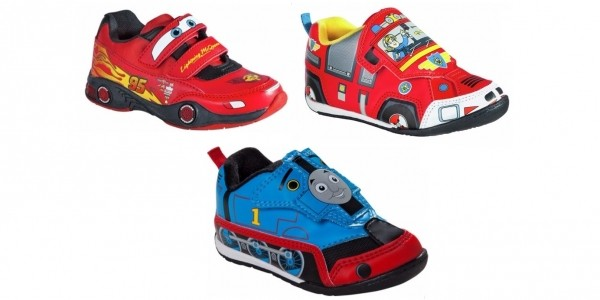 Kids Novelty Trainers £4.24 (with code) @ Argos