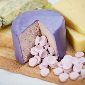 Would You Eat Parma Violet Cheese?
