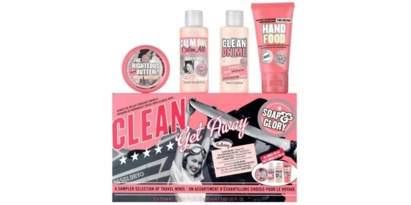 FREE Soap & Glory Gift Set Worth £10 When You Buy 2 Or More Soap & Glory Products @ Boots